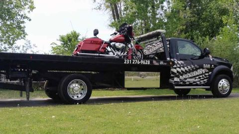 Motorcycle Towing Traverse City